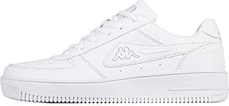Kappa Share, Sneaker Unisex-Adulto, Bianco (1014 White/l′Grey 1014 White/l′Grey), 45 EU
