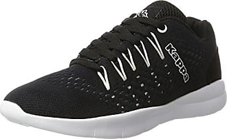 Kappa Follow, Zapatillas Unisex Adulto, Negro (Black/White 1110), 37 EU