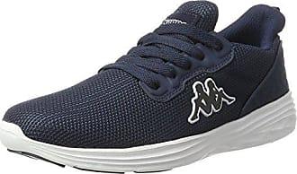 Square, Sneakers Basses Mixte Adulte, Bleu (Navy/Orange), 38 EUKappa