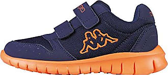 Kappa Foggy Kids, Zapatillas Unisex Niños, Azul (6744 Navy/Orange 6744 Navy/Orange), 25 EU