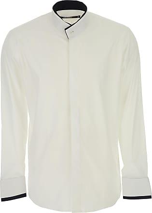 Camiseta de Hombre Baratos en Rebajas, Blanco, Algodon, 2017, M Karl Lagerfeld