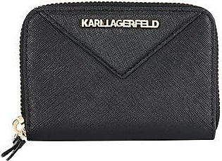 Wallet for Women, Black, PVC, 2017, One size Karl Lagerfeld