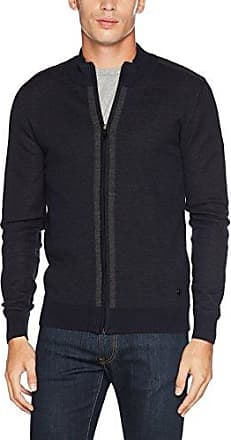 Karl Lagerfeld Knit Zip Jacket, Gilet Homme, Blau (Nachtblau 690), Medium