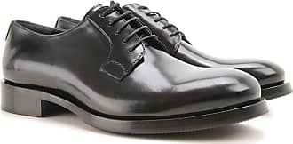 Lace Up Shoes for Men Oxfords, Derbies and Brogues On Sale, Black, Leather, 2017, 6 Karl Lagerfeld