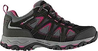 Karrimor Damen Mount Wanderschuhe Wasserdicht Atmungsaktiv Schwarz/Pink 42