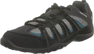 Karrimor K409BLA151 - Zapatillas de senderismo de ante para hombre, color negro, talla 41