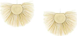 Hand Fan earrings - Nude & Neutrals Katerina Makriyianni