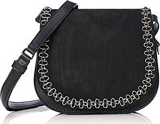Petite Bag W.Flower Chain, Womens Cross-Body Bag Kaviar Gauche