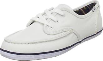 People'SWalk - Zapatillas de deporte para mujer, color blanco, talla 39