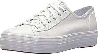 Keds TPL Kick Eyelash Canvas Cream, Zapatillas para Mujer, Blanco (Off White 13), 39 EU