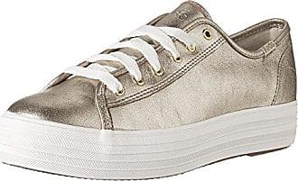Keds TPL Kick Eyelash Canvas Cream, Zapatillas para Mujer, Blanco (Off White 13), 42 EU
