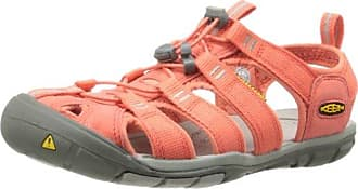 CLEARWATER CNX W-HOT CORAL/DRIZZLE 1010994 Damen Sandalen, Orange (HOT CORAL/DRIZZLE), EU 37.5 (US 7) Keen