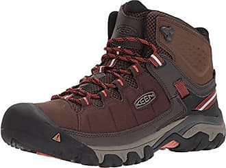 Keen Herren Gypsum II Waterproof Mid Trekking-& Wanderstiefel, Schwarz (India Ink/Burnt Ochre India Ink/Burnt Ochre), 45 EU