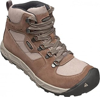 Keen - Women's Westward Mid Leather WP - Wanderschuhe Gr 9,5 grau/schwarz