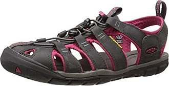 Keen Clearwater CNX Leather Braun-Rot, Damen Sandale, Größe EU 40.5 - Farbe Magnet-Sangria Damen Sandale, Magnet - Sangria, Größe 40.5 - Braun-Rot