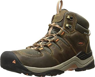 Keen Herren Gypsum II Waterproof Mid Trekking-& Wanderstiefel, Schwarz (India Ink/Burnt Ochre India Ink/Burnt Ochre), 47 EU