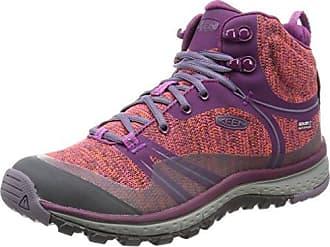 Galleo Mid WP, Zapatos de High Rise Senderismo para Mujer, Marrón (Cascade/Desert), 37.5 EU Keen