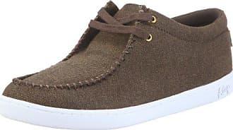 Keep Nuss Halbschuh KP009AU11, Unisex - Erwachsene, Sneaker, Braun (yarn dyed twill madras plaid K60), EU 36.5