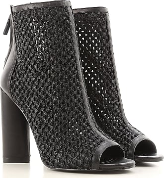 Boots for Women, Booties On Sale, Black, Leather, 2017, 3.5 4 4.5 5.5 6 7 Kendall + Kylie