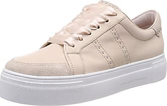 Down, Baskets Femme, Multicolore (Taupe Sohle Creme 383), 38.5 EUKennel & Schmenger