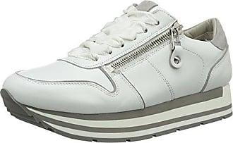 Lion, Sneaker Donna, Weiß (Bianco Sohle Weiß-Grau), 40.5 EU Kennel & Schmenger