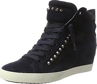 Town, Sneaker a Collo Alto Donna, Grau (Slate/Asfalto Sohle Weiss), 37.5 EU Kennel & Schmenger