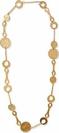 Kenneth Jay Lane Woman Fringed Gold-tone, Faux Pearl And Stone Necklace Gold Size Kenneth Jay Lane