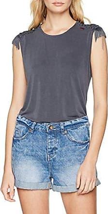 Khujo Lilinoe, Camiseta para Mujer, Negro (Anthracite 207), M