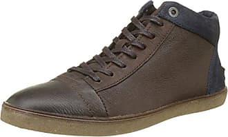 Kickers Kanning 2eye, Zapatos de Cordones Derby para Hombre, Marrón (Dark Brown), 41 EU