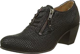 Timberland Mayport, Zapatos de Cordones Oxford para Mujer, Azul (Stone Blue Canvas with Natural Tan E42), 38 EU