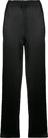 high-waist track trousers - Black Koché