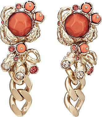 Chasun Young Womens Crystal-Embellished Mistmatched Drop Earrings
