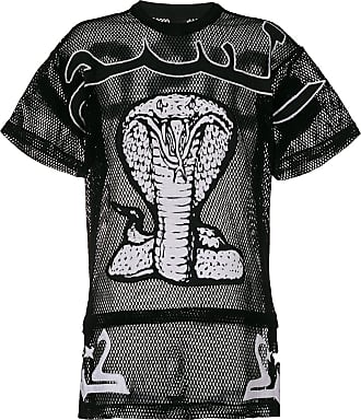 cobra embroidered oversized T-shirt - Black KTZ
