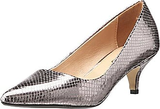 AVA, Zapatos de Tacón con Punta Cerrada para Mujer, Plateado (Silver 63), 38 EU Kurt Geiger