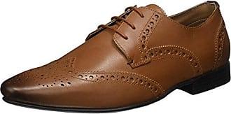 Kurt Geiger London Gloucester, Zapatos de Cordones Brogue Para Hombre, Schwarz (Black), 46 EU