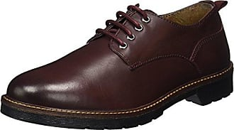 Ganter 0-256001-01000, Chaussures derby hommeRougeRot (Bordo 4500), 47 EU