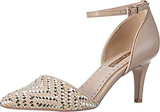 Brooke, Zapatos de Tacón con Punta Cerrada para Mujer, Negro (BLK/White), 38 EU Kurt Geiger