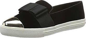 7114224979, Sneakers Basses Femme - Noir - Noir (Metal Comb), 40Kurt Geiger