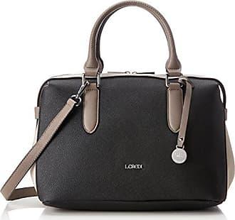 Teramo, Womens Shoulder Bag, Schwarz, 14x29,5x41,5 cm (B x H T) L.Credi