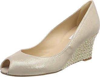 L.K. Bennett New Sybila, Zapatos con Plataforma para Mujer, Dorado (GOL-Soft Gold), 38 EU L.k. Bennett