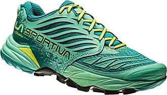 La Sportiva Akasha Running Shoes Women Emerald/Mint 37 2017 Trail Running Schuhe