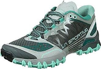 La Sportiva Bushido Shoes Women Grey/Mint Schuhgröße 38,5 2018 Laufsport Schuhe