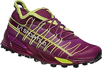 La Sportiva TX2 Leather Braun-Lila/Violett, Damen EU 37.5 - Farbe Sand-Purple Damen Sand - Purple, Größe 37.5 - Braun-Lila/Violett