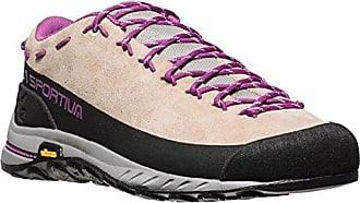 La Sportiva TX2 Leather Braun-Lila/Violett, Damen EU 39 - Farbe Sand-Purple Damen Sand - Purple, Größe 39 - Braun-Lila/Violett