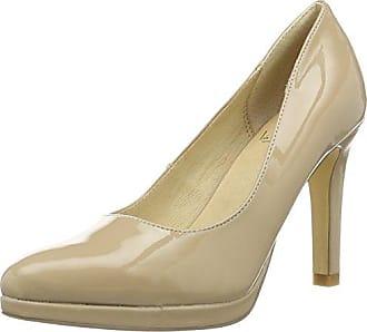 HIRSCHKOGEL 3003429, Zapatos de Tacón con Punta Cerrada para Mujer, Gris (Taupe 066), 39 EU