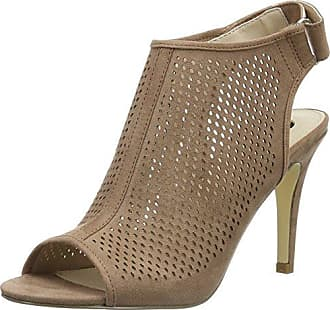 La StradaGold Cracked Leather Look Sandal - Sandali a Punta Aperta Donna, Oro (Gold (1443 - Cracked Gold)), 37