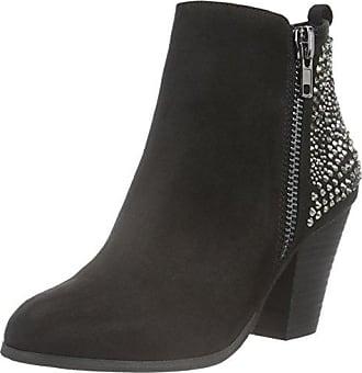 La Strada 903318, Zapatillas de Estar por Casa para Mujer, Negro-Schwarz (1401-Creacked Micro Black), 37 EU