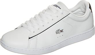 Lacoste Carnaby Evo 116 1 Wht, Schuhe, Flache Schuhe, Stoffschuhe, Weiß, Female, 37