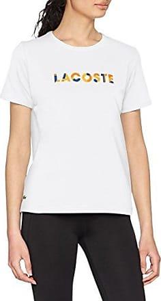 Lacoste TF3144, Camiseta para Mujer, Azul (Electrique/Vanillier Lug), 36 (Talla del Fabricante: 36)