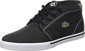 Lacoste Avenir Slip 118 1 SPW, Sneaker Donna, Nero (Blk/Fluro Ylw), 41 EU